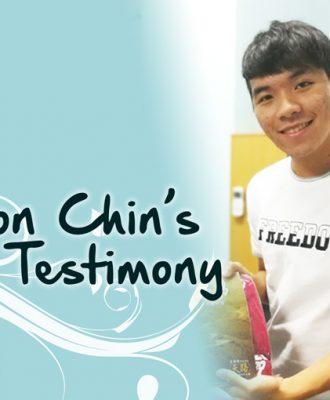 Simon Chin's Testimony